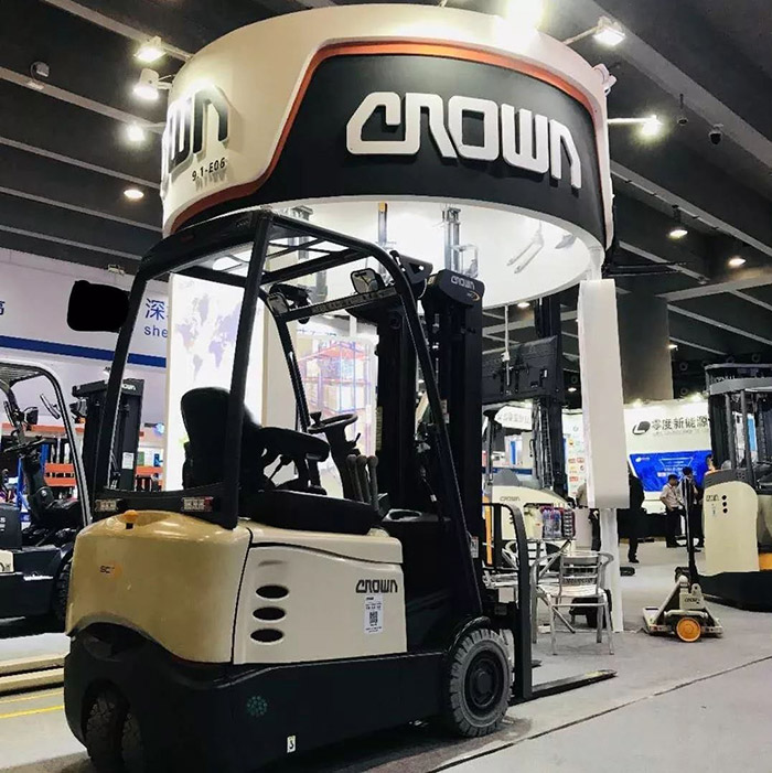 Crown-科朗叉车参与2019 中国(广州)国际物流装备与技术展览会