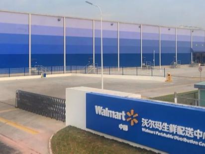 65台科朗电动叉车交付沃尔玛华南生鲜配送中心