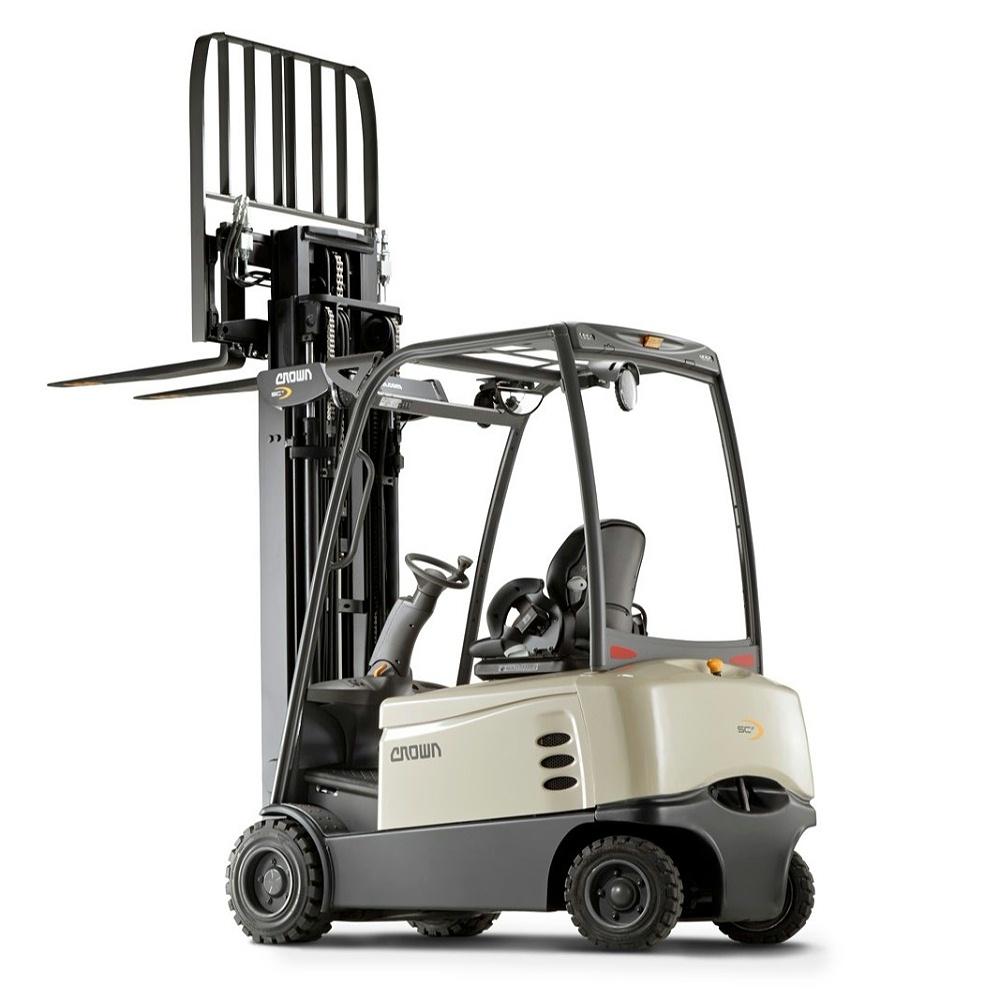 科朗平衡重四支点电动叉车SCF6000